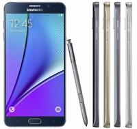 Samsung Galaxy Note 5  32GB  All Colours - Smartphone - Unlocked GRADED