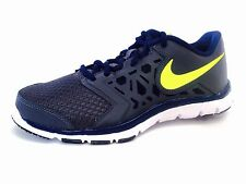 Nike Flex Supreme TR4 GS/PS Kids Boys Gray Running Shoes Size 7Y 759990-070 NEW