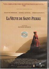 DVD LA VEUVE SAINT PIERRE juliette binoche daniel auteuil patrice leconte