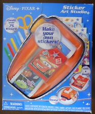 Disney Pixar Sticker Art Studio You Custom Design 75+ Stickers Scrap book Ooak