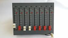 Penny & Giles 8 channel fader module from vintage audio console DDA232