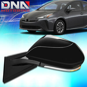 For 2017-2019 Toyota Prius Prime Powered Heated Left Driver Side View Mirror