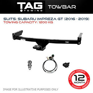 TAG Towbar Fits Subaru Impreza 2016 - 2019 Towing Capacity 1200Kg 4x4 Exterior