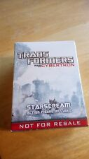 HASBRO  TRANSFORMERS STARSCREAM WAR FOR CYBERTRON SP4 PROMO