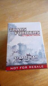 HASBRO  TRANSFORMERS STARSCREAM WAR FOR CYBERTRON SP4 PROMO