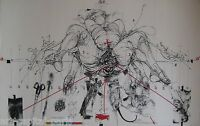 VELICKOVIC LITHOGRAPHIE 1975 SIGNÉE CRAYON NUM/190 HANDSIGNED NUMB LITHOGRAPH