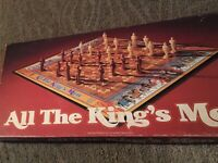 Vintage 1979 Parker Brothers ALL THE KING'S MEN Board Game COMPLETE Very Nice