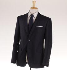 NWT $1595 BOGLIOLI Dark Gray Stripe Wool-Cashmere Suit Slim-Fit 40 R (Eu 50)