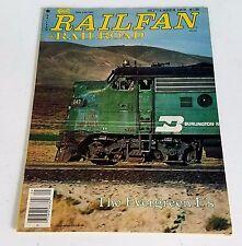 Railfan & Railroad Magazine September 1979 Burlington Northern Evergreen F Units