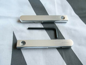 MGTF MG TF Seat Belt Tidies Pair Made From Billet Polished Finish mgmanialtd.com
