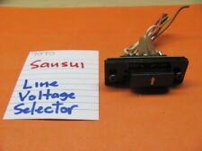 SANSUI 7070 REAR PANEL VOLTAGE SELECTOR ASSEMBLY NO PART NUMBER AVAILABLE