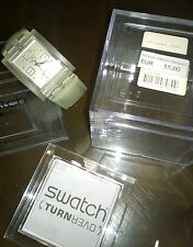 "Gioielli/Orologio "" SWATCH TURNOVER OVER TURN "" Swiss Made/The Club"