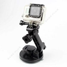 Car Windshield Vacuum Suction Cup w/ Quick Release Mount For GoPro Hero 5 4 3+ 3