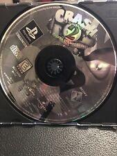 Crash Bandicoot 2 Ii Cortex Strikes Back Playstation Ps1 Original game Disc