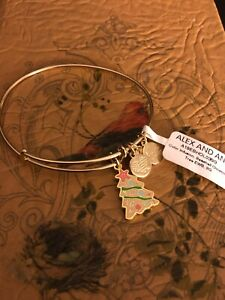 """ALEX AND ANI """"SEASHELL CHRISTMAS"""" Color Infusion ~ SHINY GOLD~ NEW WITH TAGS"""