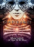 TEMPERANCE - Maschere - A Night At The Theater - DVD+CD DIGIPACK
