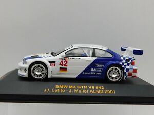 1/43 IXO 2001 BMW M3 GTR ALMS #42 Lehto Muller GTM006