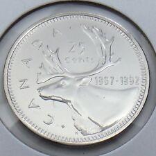 1867-1992 Canada 25 Twenty Five Cent Quarter Brilliant Uncirculated BU Coin G487