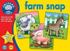 Orchard Toys Farm Snap Childrens Educational Card Game
