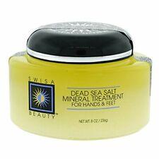 Dead Sea Salt Mineral Treatment exfoliant for soft skin  For Hands & Feet - 8oz