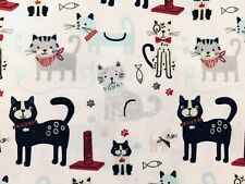 New listing Cats Kittens On White Potholders (2) Handmade By Me! Cute!