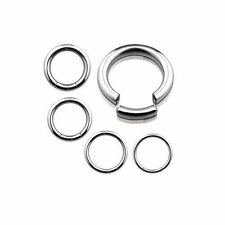 Piercing SEPTUM RING NOSE Orecchino Anello SETTO NASO 1.2mm. diametri 8mm e 10mm