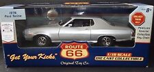 Route 66 1976 Ford Gran Torino 1:18 Scale Die Cast Model Muscle Ertl Car