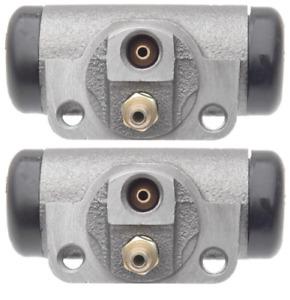 "PACK OF 2 Drum Brake Wheel Cylinder Rear WC37663 w/ 10"" brakes"