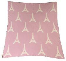 Frolics Kids Collection Blanket Throw Paris France Eiffel tower- 100% Cotton ——-