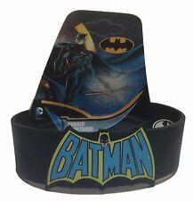 DC Comics BATMAN RETRO Logo Silicone Bracelet WRISTBAND