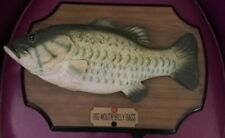 Rare Gemmy Big Mouth Billy Bass Animated Singing Fish 1999 Vintage Working