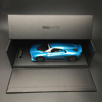 New Original 1:18 Scale NIO EP9 Super Sport Car Model Bavarian Blue Collection