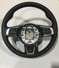 Jaguar XE R Black Leather Steering Wheel, Voice & Cruise Control
