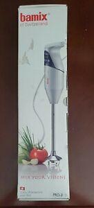 Bamix Gastro GL200 Gastro Pro-3 200W Immersion Hand Blender w/extra blade.