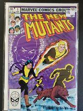 The New Mutants #1 Mar 1983 Marvel X-Men