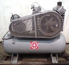 Gardner Denver Air Compressor Adr1014 2 Stage 120 Gallon 10 Hp 230460 Volts