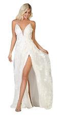 Ocasión Especial Formal Vestidos de Novia Elegante Muslo Alto con Abertura Noche