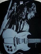 AC/DC cd lgo ANGUS DAMNED - STIFF UPPER LIP Official SHIRT LRG new