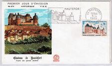 FRANCE FDC - 682A 1596 1 CHATEAU DE HAUTEFORT - flamme 5 Avril 1969