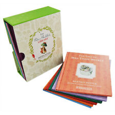 Peter Rabbit Library Collection 10 Book Beatrix Potter Box Gift Set Pack HB New
