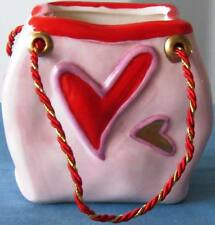 8 pcs. NEW CERAMIC VALENTINES' DAY GIFT BAG 4 STYLES FREE SHIPPING!