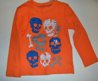 Circo Toddler Boys Long Sleeve T- Shirt with Skull  Size 24M 2T 4T 5T NWT