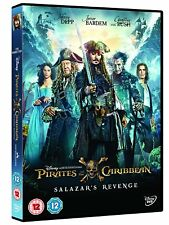 Pirates of the Caribbean : Salazar's Revenge (2017) Johnny Depp,�€Ž NEW UK R2 DVD