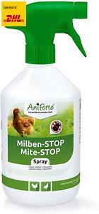 AniForte Milbenspray Hühner  Geflügel 500ml - gegen Milben  Parasiten, Milben