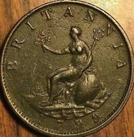 1799 GREAT BRITAIN GEORGE III HALF PENNY COIN