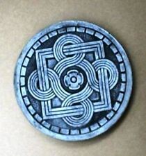 """One Diy 14""""x2"""" Round Celtic Stepping Stone Mold Make Crafts At Home @ $1.00 Each"""