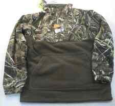 Drake Waterfowl DW3020-015-14 Youth Eqwader 1/4 Zip Shirt Jacket Max5 Sz14 17727