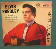 Elvis Presley RCX-175 Strictly Elvis EP UK 1963