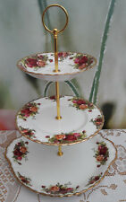"Royal Albert ""Old Country Roses""  Cake stand"