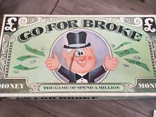 VICTORY GO FOR BROKE 1965 BOARD GAME